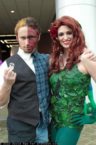 Two-Face and Poison Ivy