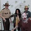 Rick Grimes, Michonne, Walker, and Carl Grimes