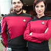 William Riker and Ro Laren