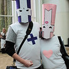 Purple Knight and Pink Knight