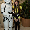 Stormtrooper and Silk Spectre