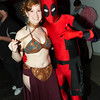 Princess Leia Organa and Deadpool