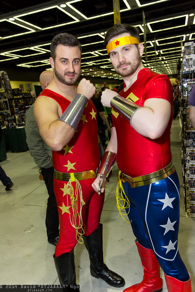 Wonder Girl and Wonder Woman