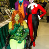Poison Ivy, Joker, and Harley Quinn