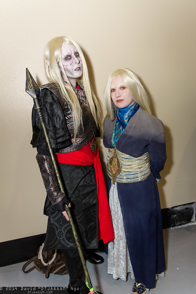 Nuada Silverlance and Nuala Silverlance