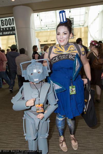 Cyberman and TARDIS