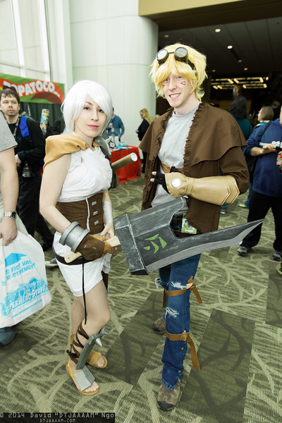 Riven and Ezreal
