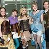 Belle, Rapunzel, Princess Aurora, Cinderella, and Flynn Rider