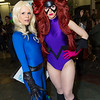 Invisible Woman and Medusa