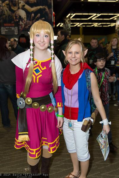 Princess Zelda and Tetra