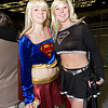 Supergirl and Dark Supergirl