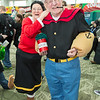 Olive Oyl and Popeye