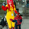 Firestar and Spider-Man