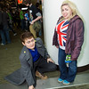 Captain Jack Harkness and Rose Tyler