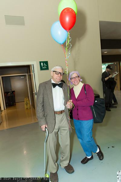 Carl Fredericksen and Ellie Fredericksen