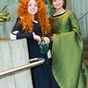 Merida and Queen Elinor