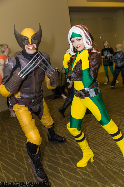 Wolverine and Rogue