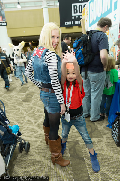 Android 18 and Pan