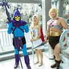 Skeletor, She-Ra, and He-Man