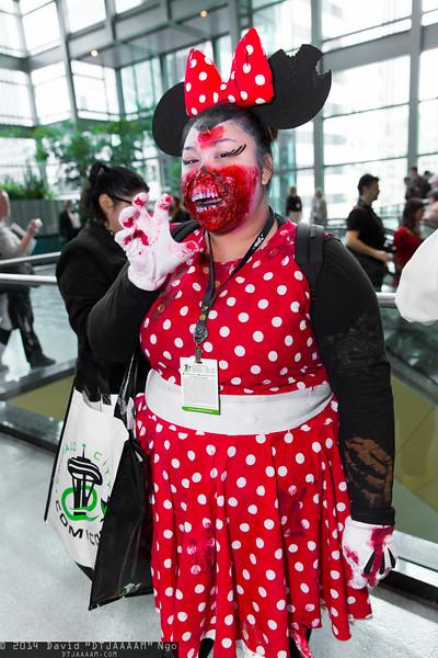 Zombie Minnie Mouse