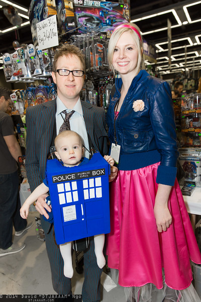 Doctor Who, TARDIS, and Rose Tyler