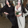 Morticia Addams and Lily Munster