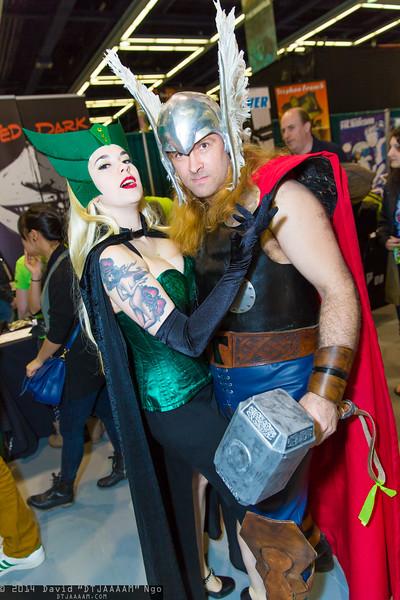 Enchantress and Thor