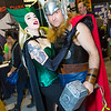 Enchantress and Thor