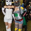 Stormtrooper and Boba Fett