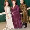 Margaery Tyrell, Sansa Stark, and Joffrey Baratheon