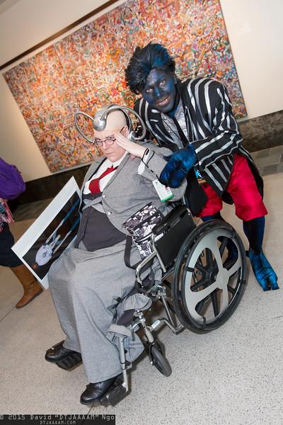 Professor X and Nightcrawler