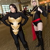 Wasp and Ms. Marvel