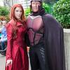Dark Phoenix and Magneto