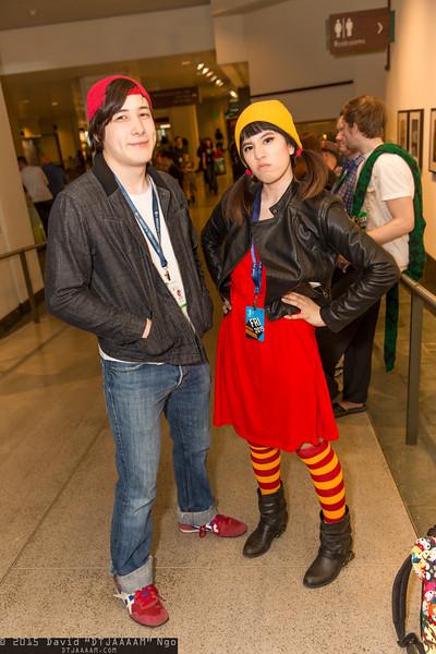 TJ Detweiler and Ashley Spinelli