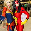 Captain Marvel and Spider-Woman