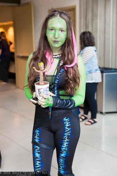 Gamora and Groot