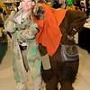 Endor Rebel Trooper and Ewok