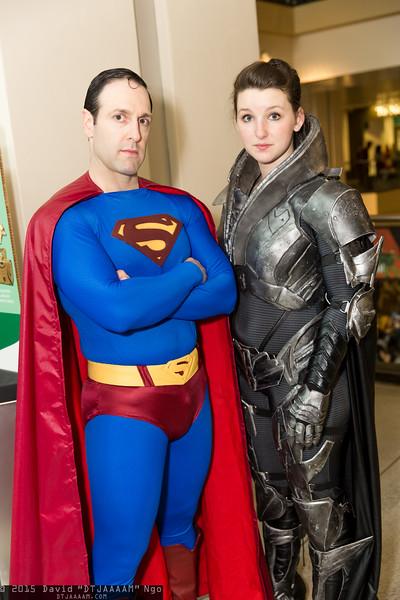 Superman and Faora