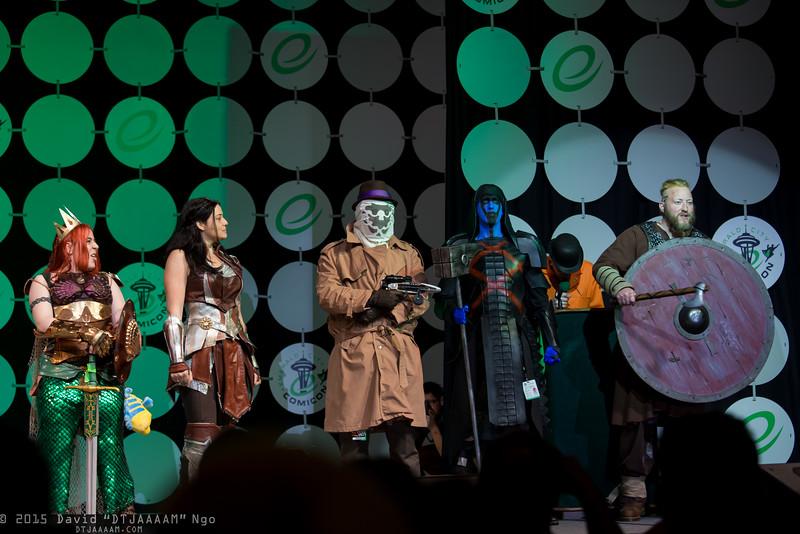 Ariel, Sif, Rorschach, Ronan the Acccuser, Ragnar Lothbrok, and Flounder