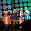 Yoshi, Queen of Hearts, Captain Marvel, Angela, Elsa, and Harry Dresden