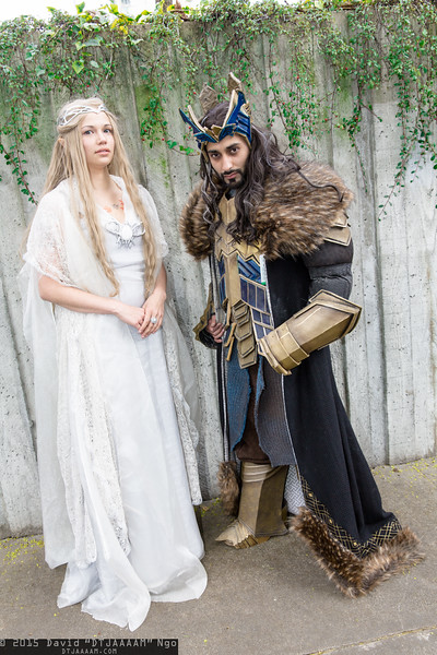 Galadriel and Thorin Oakenshield