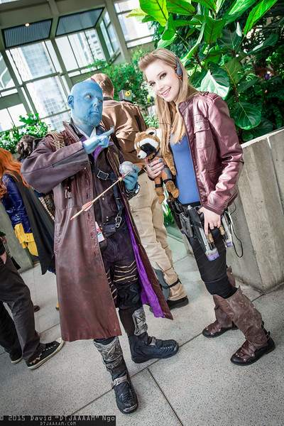 Yondu, Star-Lord, and Rocket Raccoon