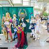 Link, Princess Zelda, Sheik, Majora, Midna, Lana, and Cia
