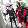Black Manta and Batwoman