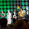 Londo Mollari, Agatha Clay, Cenobite, Zatanna, Russell, Storm, and Na'vi