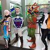 Impa, Link, Skull Kid, and Midna