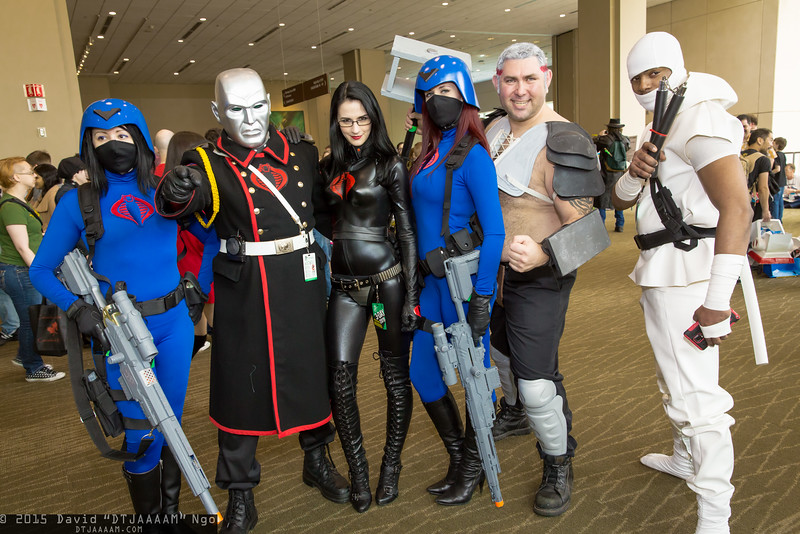 Cobras, Destro, Baroness, Road Pig, and Storm Shadow