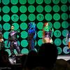 Robin, Beast Boy, Blue Beetle, Starfire, and Raven