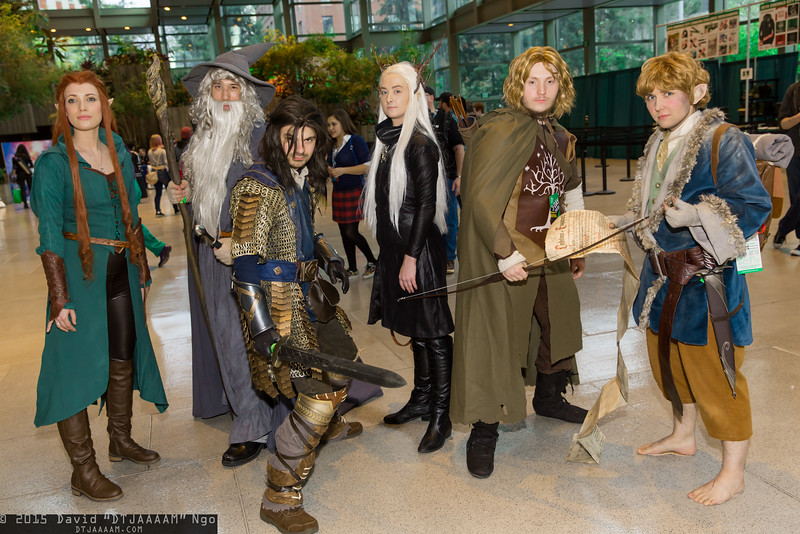 Tauriel, Gandalf the Grey, Kili, Thranduil, Faramir, and Bilbo Baggins