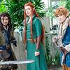 Kili, Tauriel, and Bilbo Baggins
